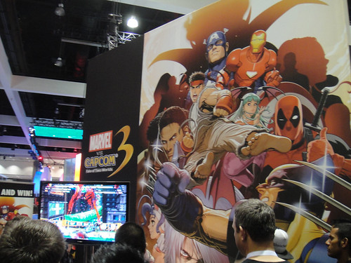 E3 2010 Marvel vs Capcom 3 booth