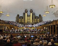Mormon Tabernacle Choir Rehearsal