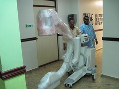 CURE Dominican Republic gets a new C-arm