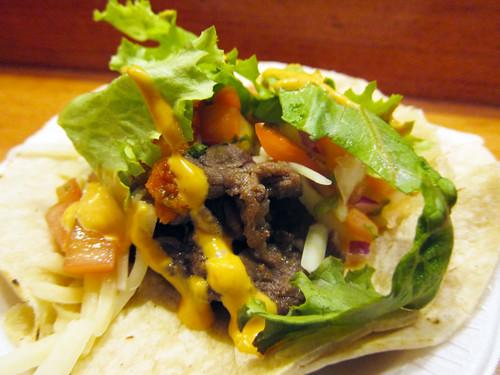 Bulgogi Tacos @ Korilla BBQ Truck