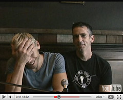 "Dan Savage and Husband Terry from ""It Gets Bet"