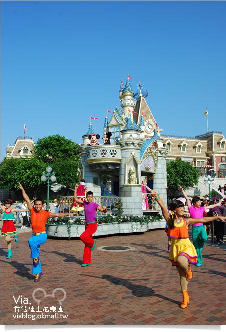 【香港迪士尼】跟著via玩香港(3)~迪士尼卡通人物歡樂巡遊47