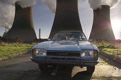 Capri at the Power Station (Lazenby43) Tags: ford capri 1974 mk2 fiddlersferry mk11