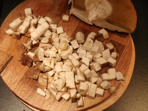 Diced Porcini mushrooms