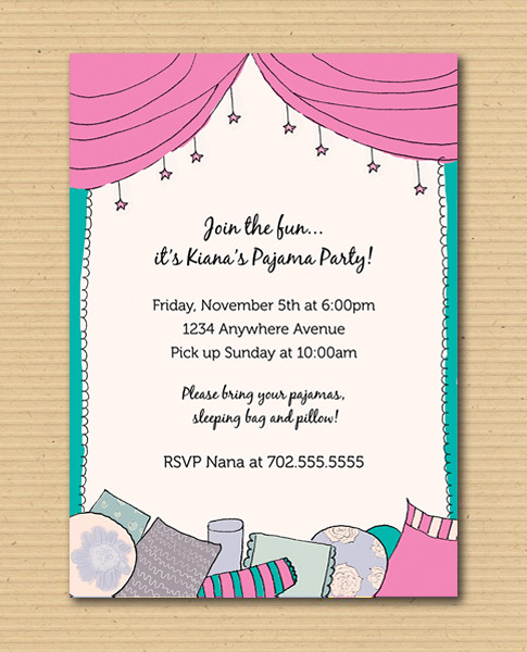 Pajama Party DIY Printables by define1lady