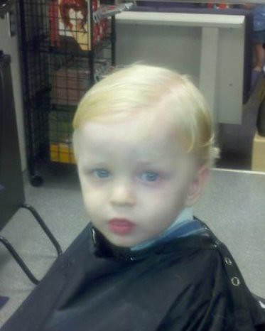 Matthew First Haircut 101104b