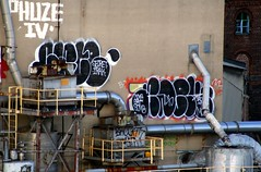 Sace Adek (36th Chamber) Tags: new york city nyc brooklyn graffiti factory rip sugar brock domino sace throw adek fill irak btm