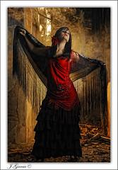 Laura (Juan García Sánchez) Tags: retrato flash flamenco strobist nostrobistinfo removedfromstrobistpool seerule2