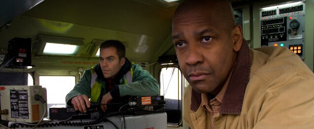 Chris Pine and Denzel Washington are 'Unstoppable' with their clichéd, yet still surprisingly exciting, movie tropes.