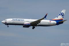 SunExpress --- Boeing 737-800 --- TC-SEO (Drinu C) Tags: adrianciliaphotography sony dsc rx10iii rx10 mk3 fra eddf plane aircraft aviation sunexpress boeing 737800 tcseo 737