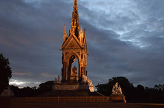 DSC_5342 Hyde Park London The Albert Memorial is situated in Kensington Gardens commissioned by Queen Victoria in memory of her beloved husband, Prince Albert who died of typhoid in 1861 (photographer695) Tags: hyde park london the albert memorial is situated kensington gardens commissioned by queen victoria memory her beloved husband prince who died typhoid 1861