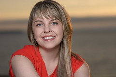 Kaitlin - Topsail Beach Sunset Shoot (bonavistask8er) Tags: nikon d7100 85mm model portrait smile people sunset topail strobist sb910 cls hss summer