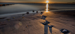 Crescent Beach, Surrey, BC (gks18) Tags: canon crescentbeach longexposure sunset beach nature
