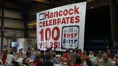 Hancock Celebrates 100 Years with Barry Nelson and Jeanne Ennen.