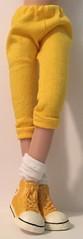 Golden Yellow Leggings...For Blythe...