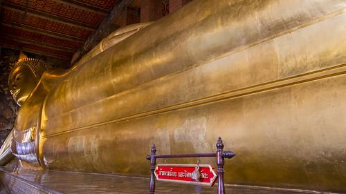The famous reclining Buddha