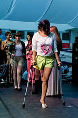 amp-1408 (vsmrn) Tags: amputee woman crutches onelegged