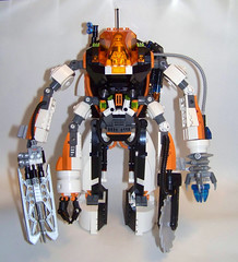 "LEGO - Mars Mission Mega Mech - ""The Crystal Juggernaut"" (Slayerdread) Tags: saw arms lego huge drill mech moc marsmission"