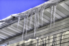 Icicles in HDR