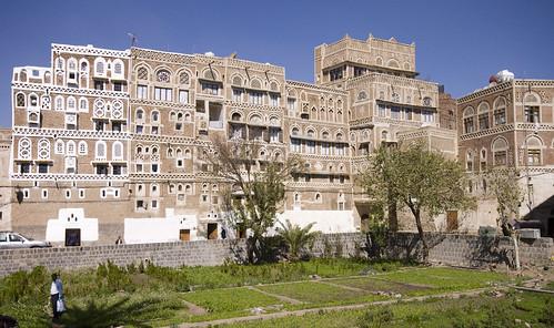 Sana'a houses