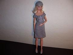Grey Dress (Dee_Blue) Tags: levitation giselle costumedrama fashionroyalty nuface
