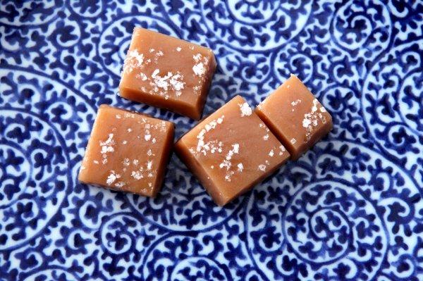 fleur de sel caramels