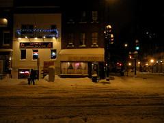 Chinatown in the Snow (jleathers) Tags: snow night washingtondc dc chinatown nightshot chineserestaurant liho dcchinatown