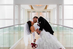(benisntfunny) Tags: justin wedding white glass hotel kiss eva dip 70200 5dmkii