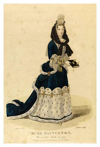 014-Madame de Maintenon-Galerie Française de femmes célèbres 1827- Louis Marie Lanté