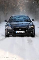 Maserati at Chillingham_22 (michaelward_autoitalia) Tags: winter snow castle sport haunted northumberland ghosts gt maserati qp quattroporte chillingham michaelwardphotos autoitaliamagazine chpltd