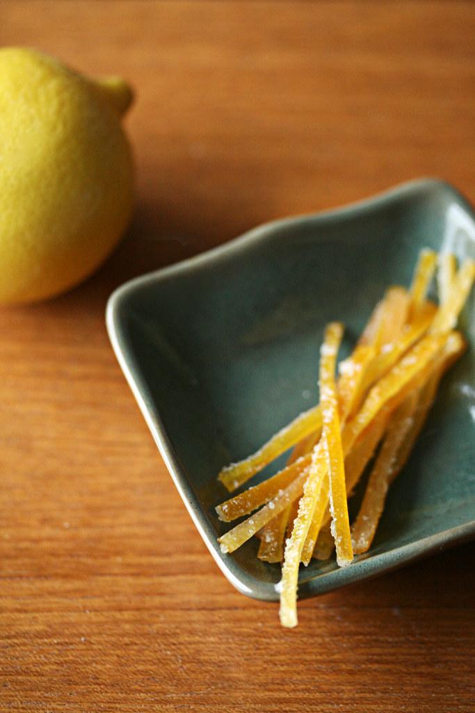 Candied Meyer Lemon