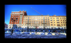 Trieste- Palazzo Gopcevich (Uros P.hotography) Tags: road park trip travel sky italy cloud tourism beautiful clouds boat canal grande amazing nice nikon perfect italia tour view superb path unique awesome sigma grand tourist journey stunning excellent lovely incredible palazzo hdr breathtaking trieste d300 photomatix gopcevich slod300