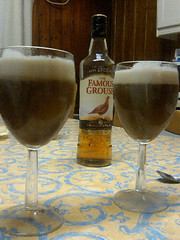 Scottish coffee (jjay69) Tags: christmas xmas kitchen scotland drink irishcoffee alcohol whisky famousgrouse strathy