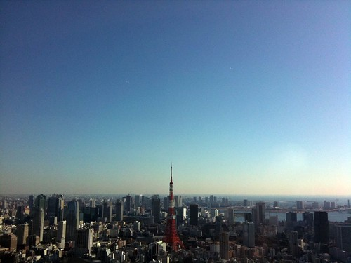 view from Roppongi-hills library