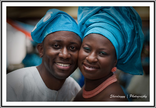 93/365 - 12/29/09 [365 Days @ 50mm] - Nigerian Couple