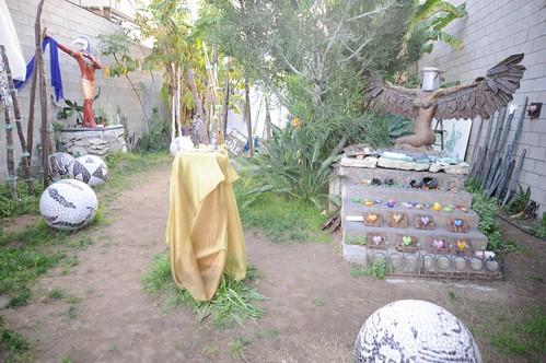 Robin's Sculpture Garden Venice Beach