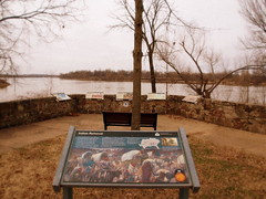Arkansas River- Part of The Trail of Tears (THE_DUDE771) Tags: creek river army tears fort indian nation smith trail american cannon arkansas cherokee seminole expansion gallows choctaw chickasaw muscogee hangmans