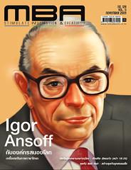 November 2009 : On Igor Ansoff