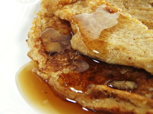 whole wheat pancakes - 32