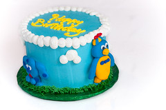 Happy Birthday!!! - Jan 12th (nkysely) Tags: birthday cake blues slice waterford clues backyardigans