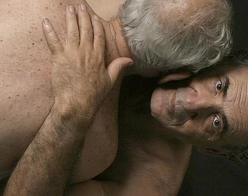 gay male model man kissing modeling love men beautiful art artist artists ...