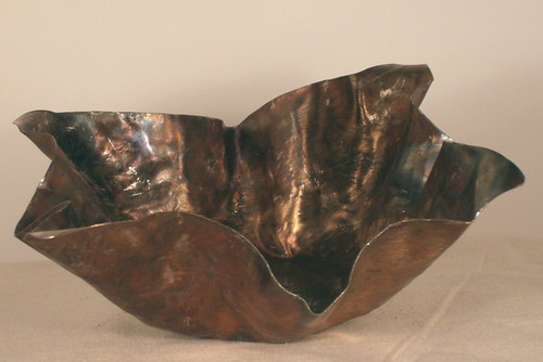 Stainless Steel Hammered Bowl