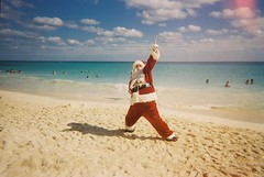 i don't understand this. (ethel verduzco) Tags: santa film playadelcarmen playa mexican clause caribean mamitas