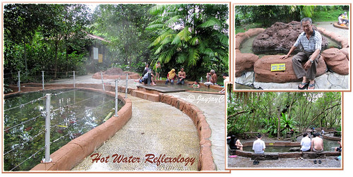 Reflexology stream and hot pools at Felda Residence Hot Springs (Sungai Klah Hot Springs Park)