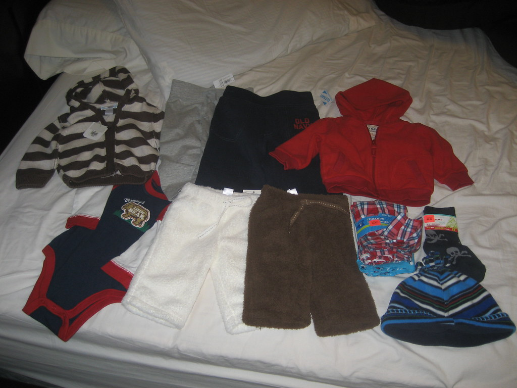 yay more baby clothes!