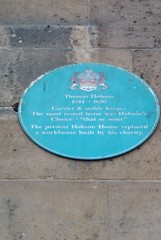 Photo of Thomas Hobson blue plaque