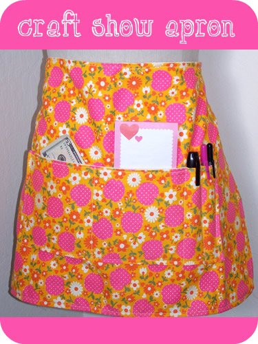studio/ craft show apron