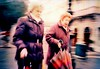 Ladies walking in the street and holding umbrellas in their hands (ale2000) Tags: street people urban umbrella walking geotagged donna xpro women kodak walk crossprocess candid cosina rainy photowalk donne urbanjungle pioggia trieste ombrello cx2 epr piovoso aledigangicom geo:lat=45654325 geo:lon=13775471