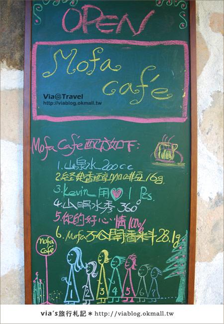 【魔法咖啡屋】Mofa Cafe~在南投國姓鄉來一杯魔法咖啡25