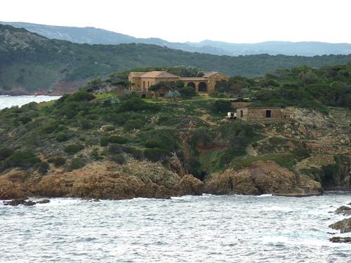 Depuis la tour de Sponsaglia : la propriété de Marina Rasciata